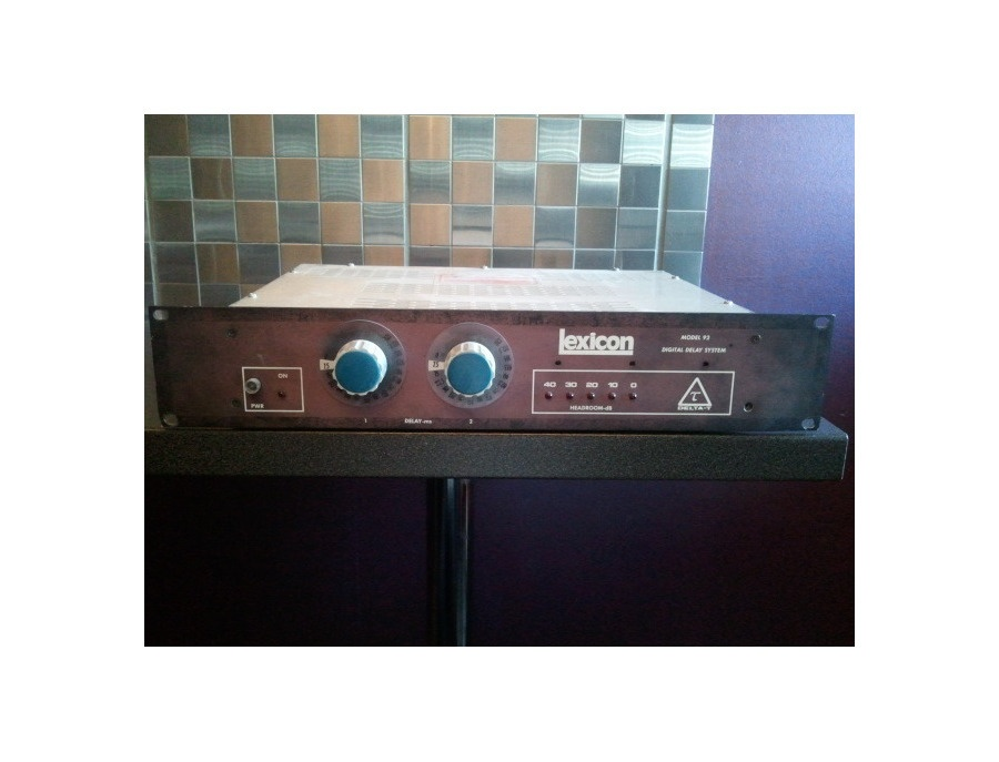 Lexicon Model 92 Delay Unit