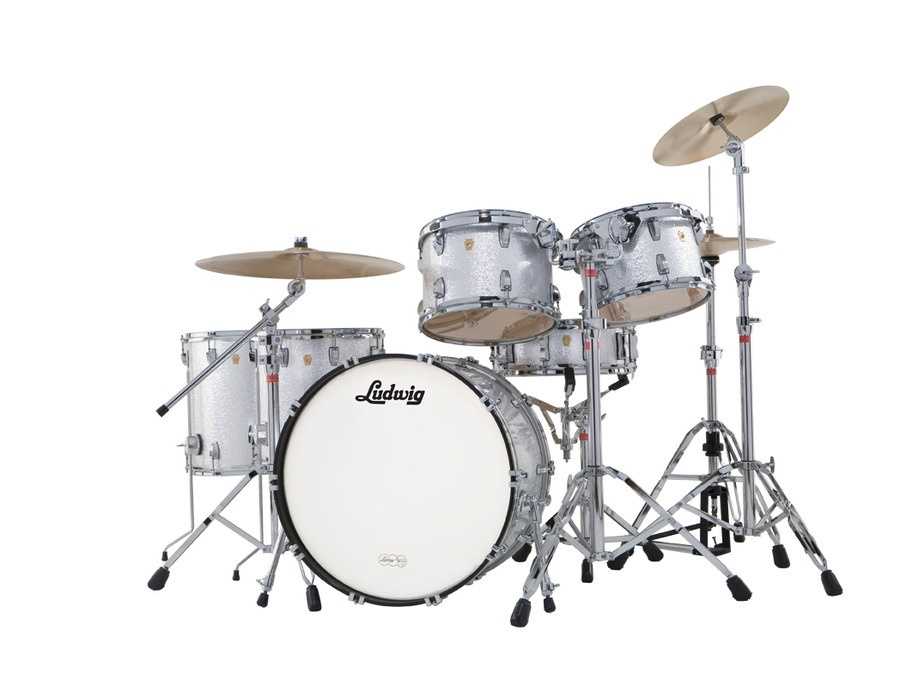 Ludwig classic kit silver sparkle xl