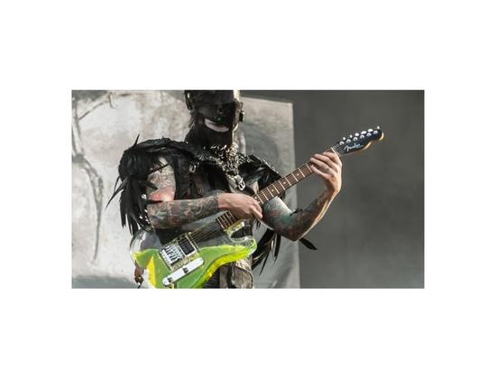 J5 Fender Telecaster Lava Guitar