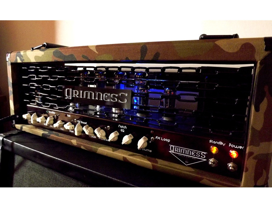 Grimness Custom Head Amplifier