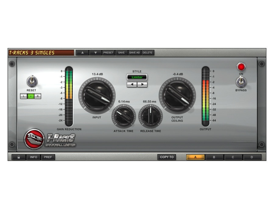 IK Multimedia T-RackS Brickwall Limiter