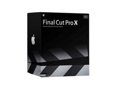 Apple final cut pro x s