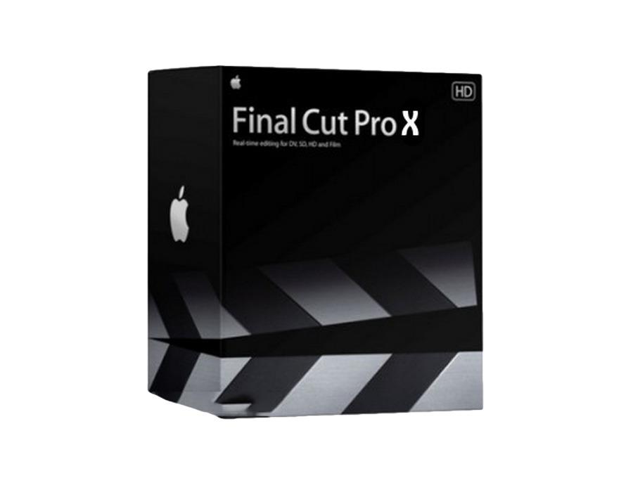 Apple final cut pro x xl