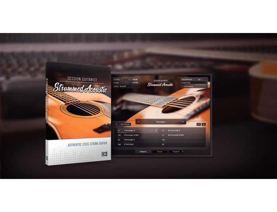 Session Guitarist Strummed Acoustic