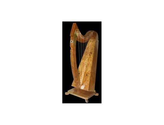 Tom's Celtic Style Clarsach Harp