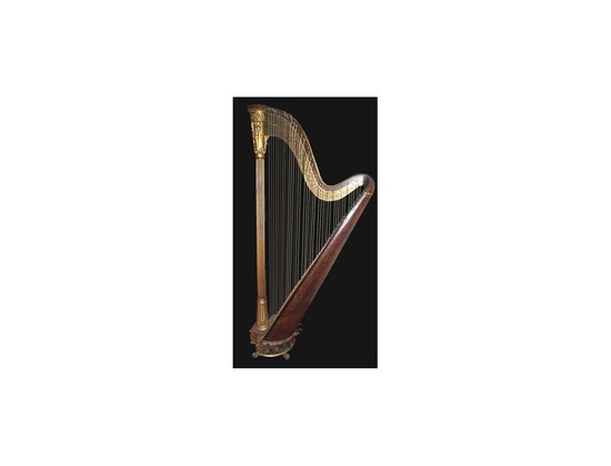 Tom's Grecian Model Double-Action 43 string Erard Harp