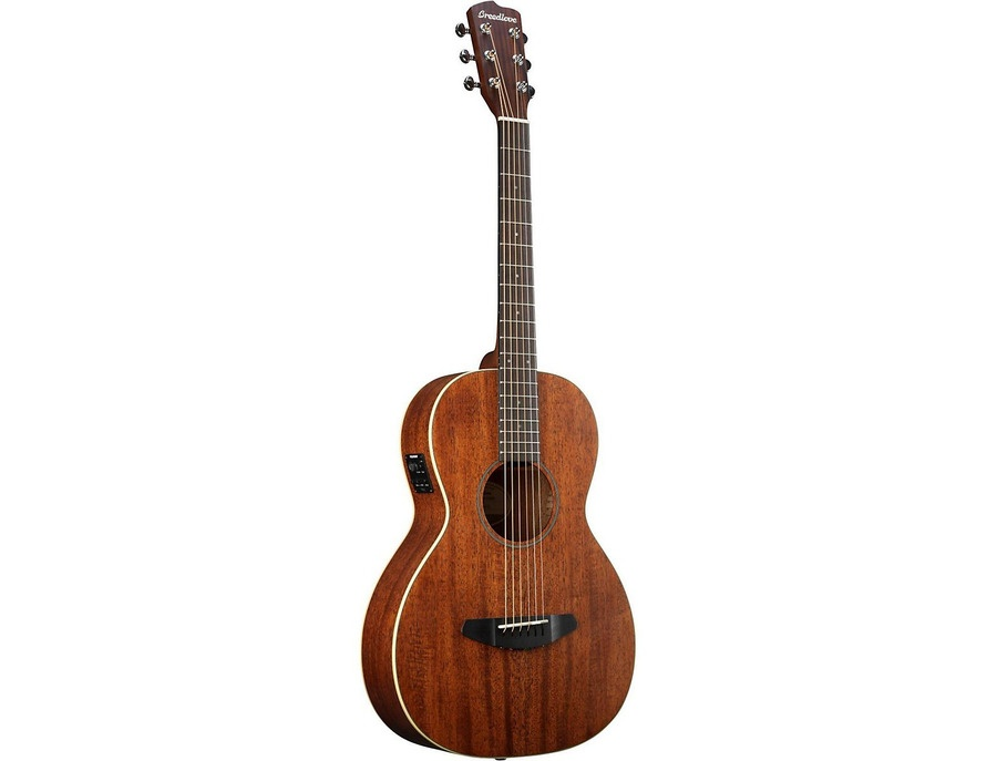 Breedlove Passport Parlor Satin Mahogany Acoustic-Electric Guitar Natural