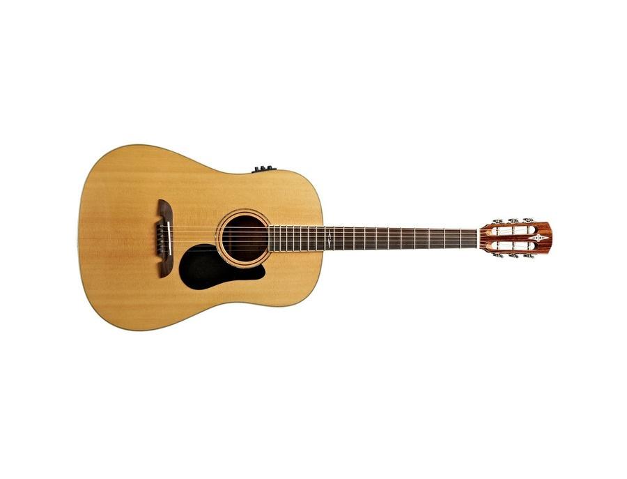 Alvarez ard70e dreadnought round shoulders acoustic electric guitar xl