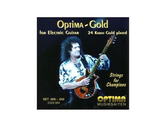 Optima Gold 2028BM Brian May Electric Guitar Strings