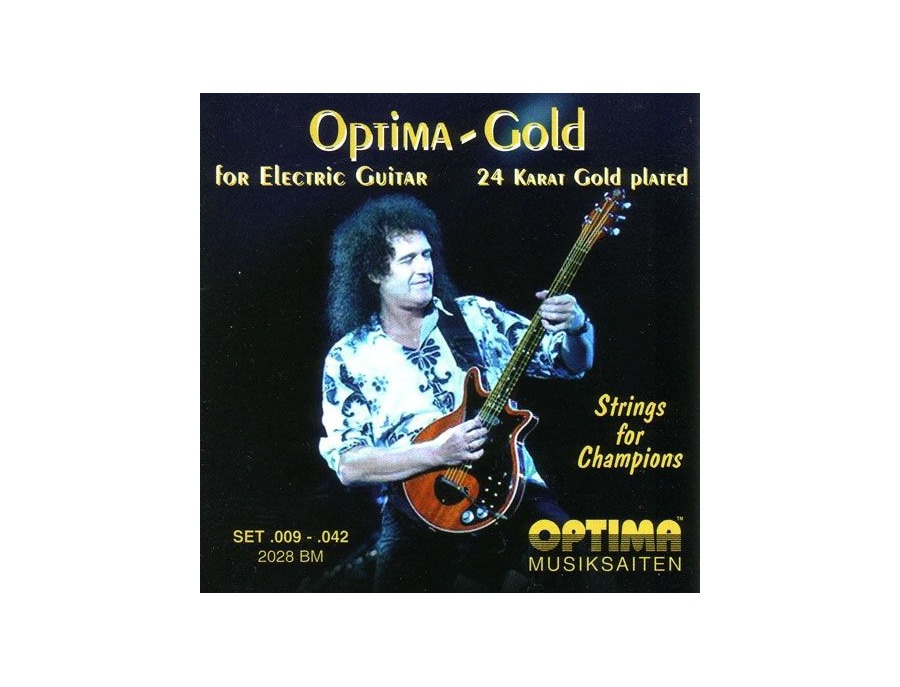 Optima Gold 2028BM Brian May Electric Guitar Strings