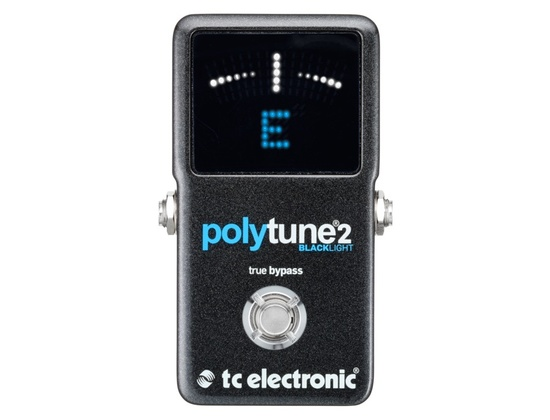 TC Electronic PolyTune 2 Blacklight Tuner