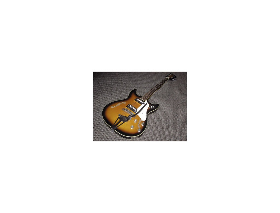 Heit Deluxe '67(?) Hollow Body Guitar