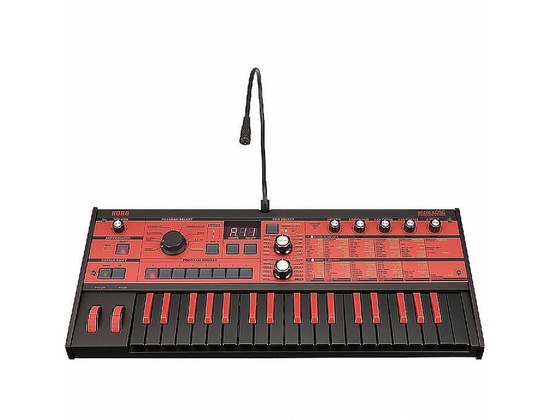 Korg MicroKORG Limited Edition Black and Red