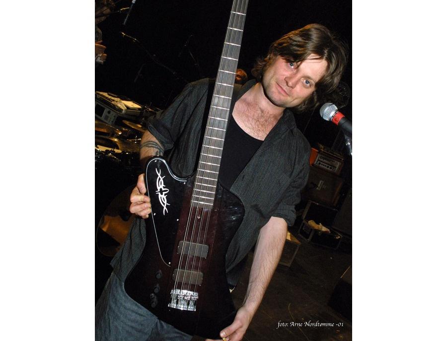 Frank Stavem 8 String Psychobird Bass guitar