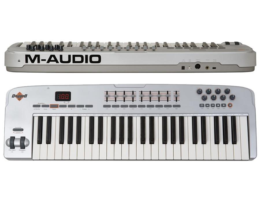M audio oxygen 49 silver xl