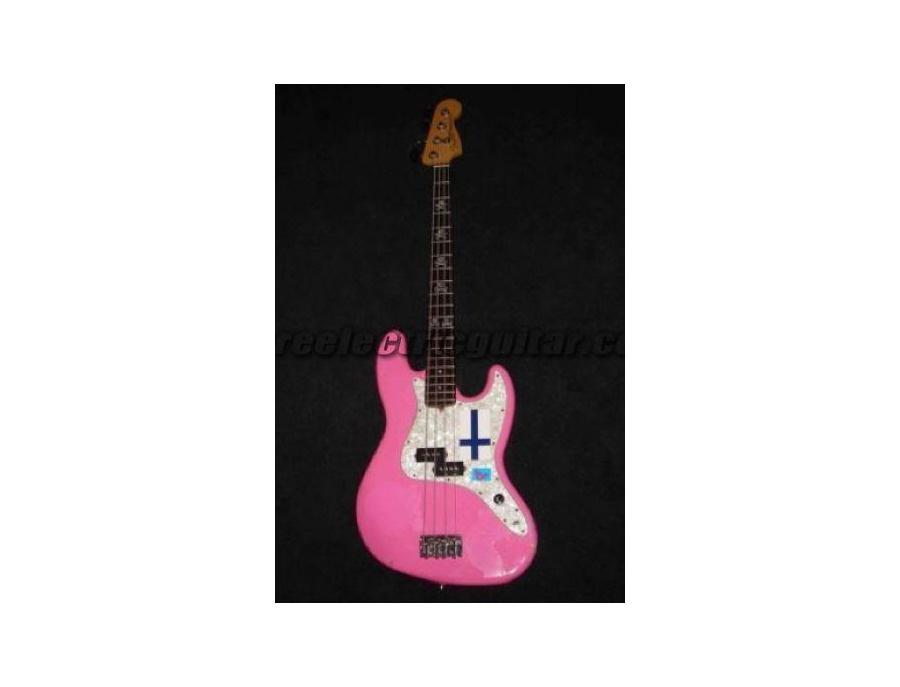 Mark Hoppus Hot Pink! Bass