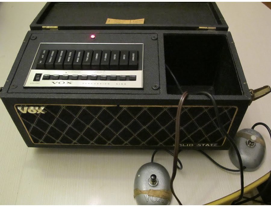 Vox Percussion King drum machine 1967