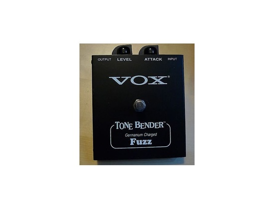 vox tone bender germanium fuzz v829