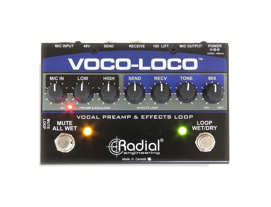 Radial engineering voco loco effects switcher xl