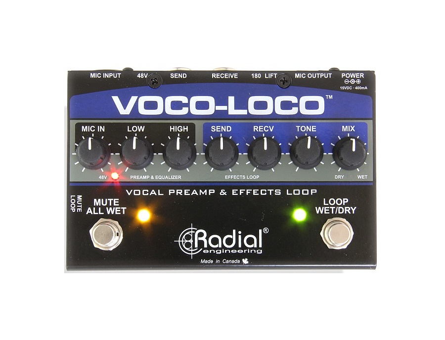 Radial Engineering Voco-Loco Effects Switcher