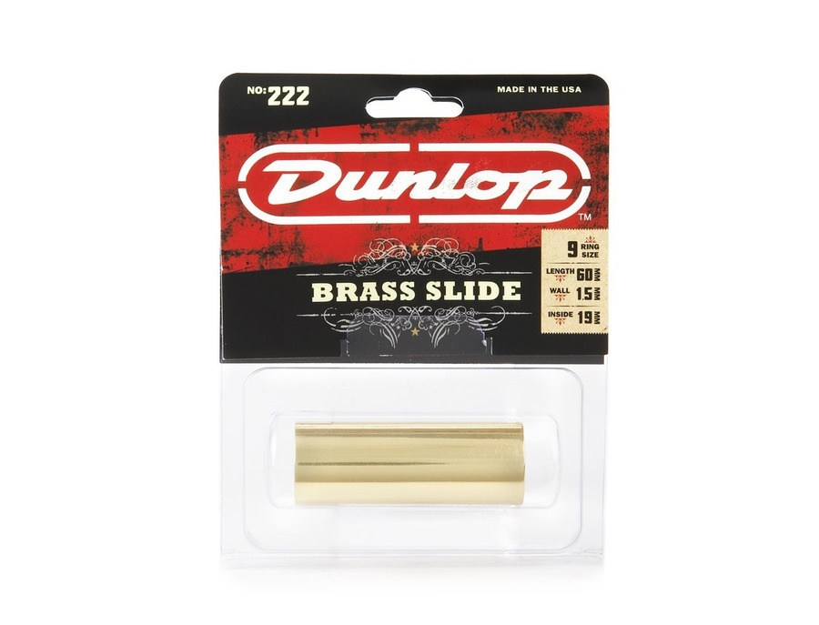 Dunlop 222 Brass Guitar Slide