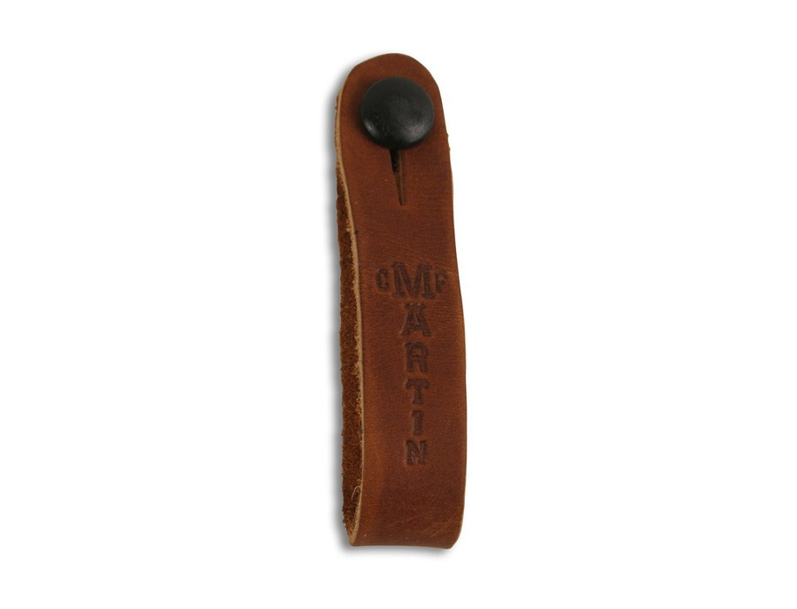 C.F. Martin & Co 18A0032 Guitar Leather Head Stock Strap Tie