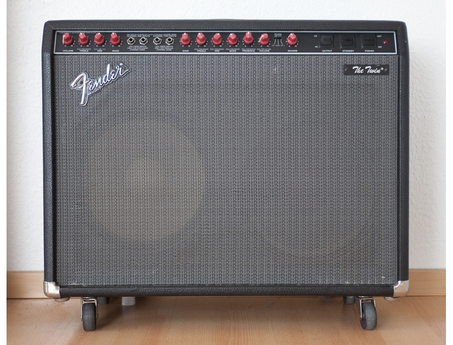 Fender red knob the twin amplifier xl