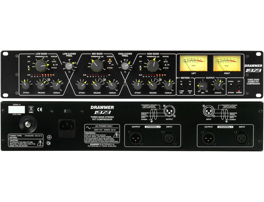 Drawmer 1973 (3-band FET Stereo Compressor)