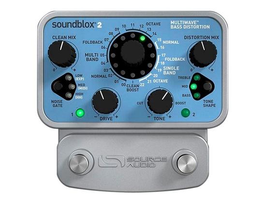 Source Audio Soundblox 2 Multiwave Bass Distortion