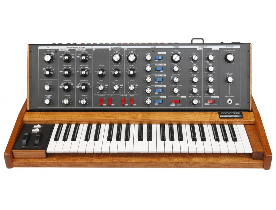 Moog Music Minimoog Voyager Old School Analog Synth