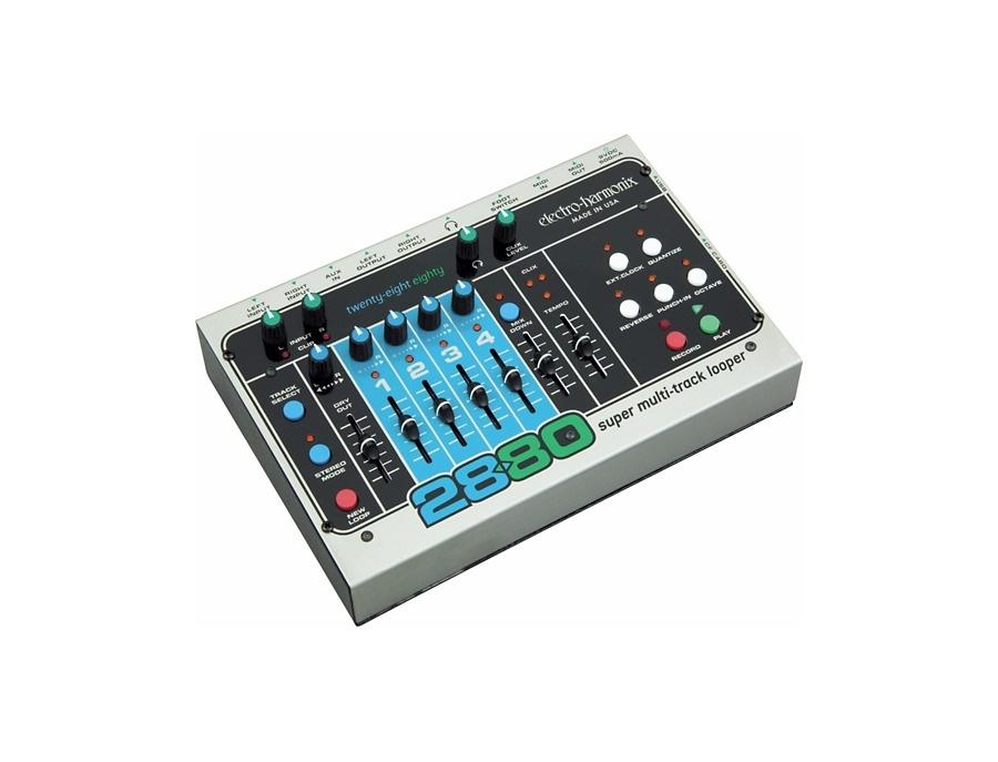 Electro harmonix classics 2880 super multitrack looper guitar effects pedal xl