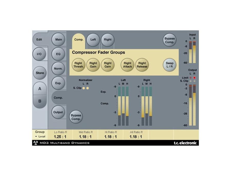 Tc electronic md3 stereo mastering powercore plugin xl
