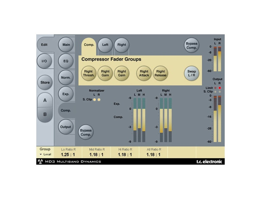 TC Electronic MD3 Stereo Mastering Powercore Plugin