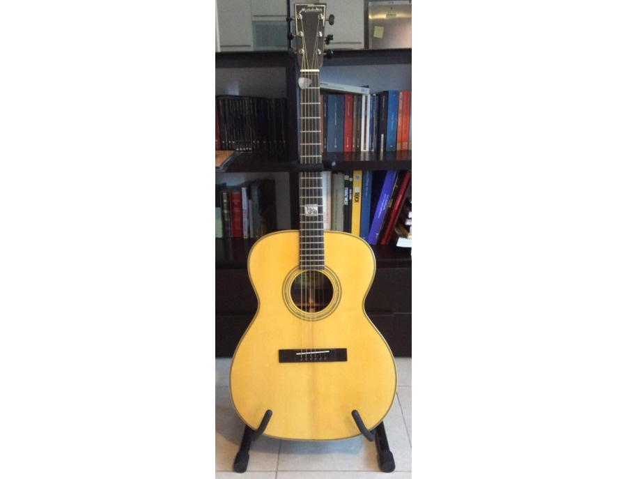 Michelutti's acoustic guitar