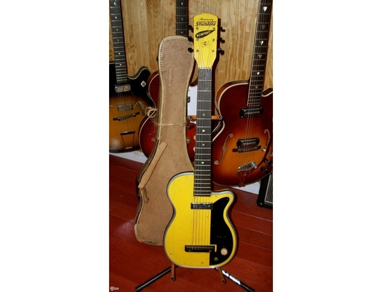 Harmony Stratotone Newport Yellow 1952