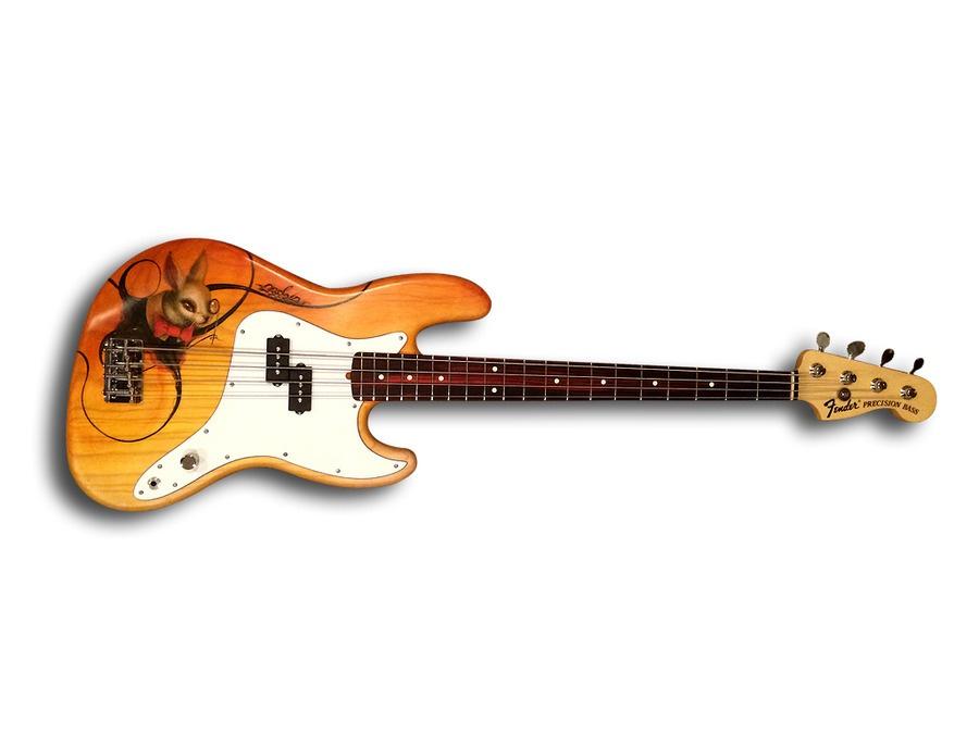 "Fender ""Bassola"" Custom-Painted Precision Bass"