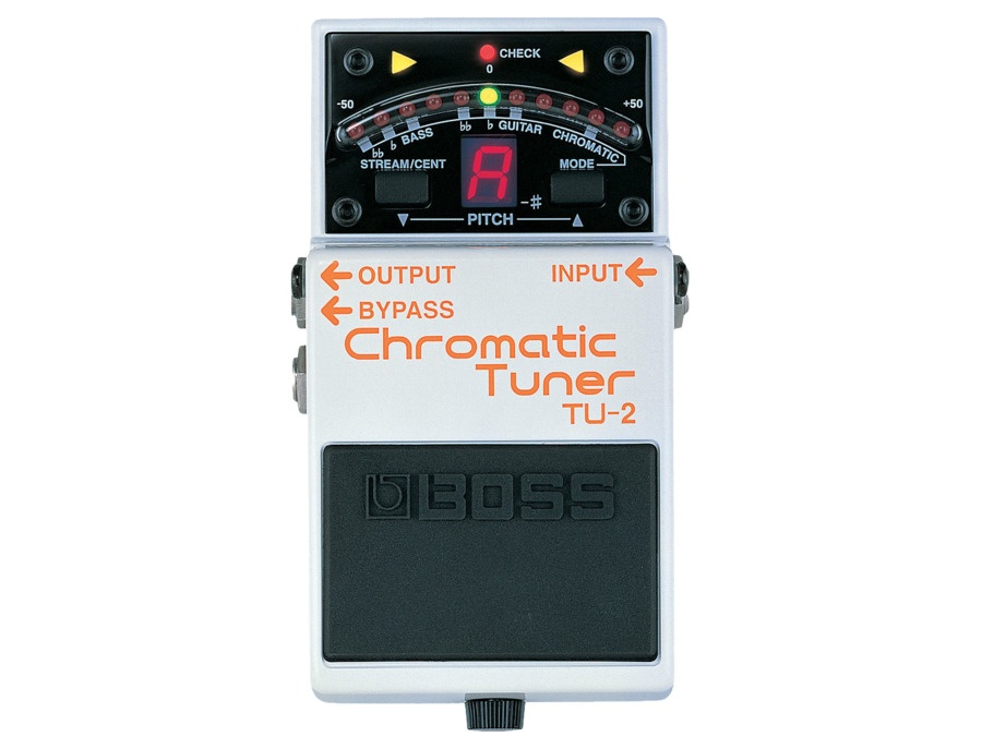 Boss tu 2 chromatic tuner xl