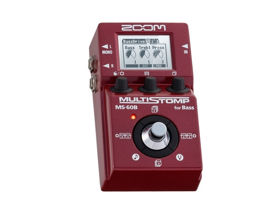 Zoom MS-60B Bass Multieffects
