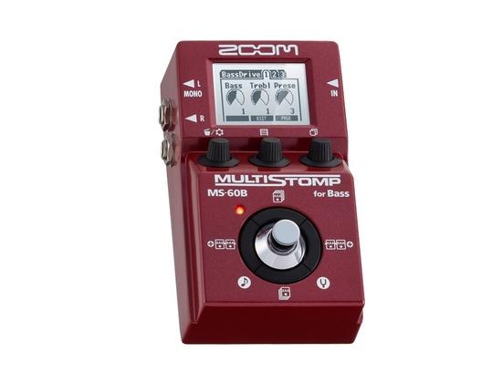 Zoom MS-60B Bass Multieffects