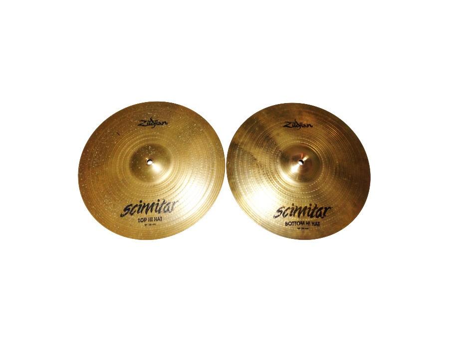 """Zildjian 14"""" Scimitar Hi Hats"""