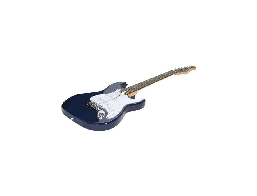 Silvertone Cobalt Blue Revolver