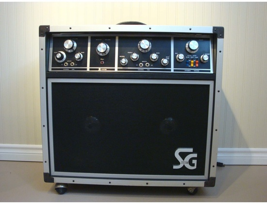 C.M.I. SG Systems SG-212 100W Tube Guitar Amplifier
