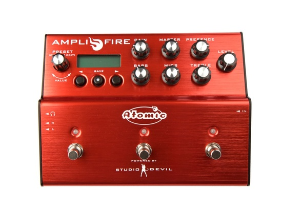Atomic Amps AmpliFire Multi-Effects Pedal