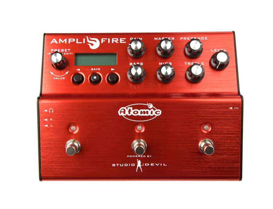 Atomic amps amplifire multi effects pedal xl