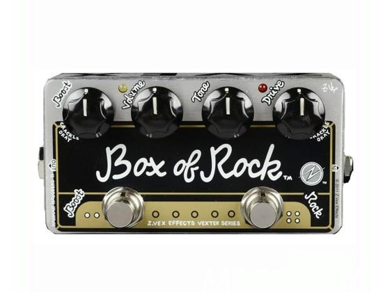 ZVex Vexter Box of Rock Distortion Guitar Effects Pedal