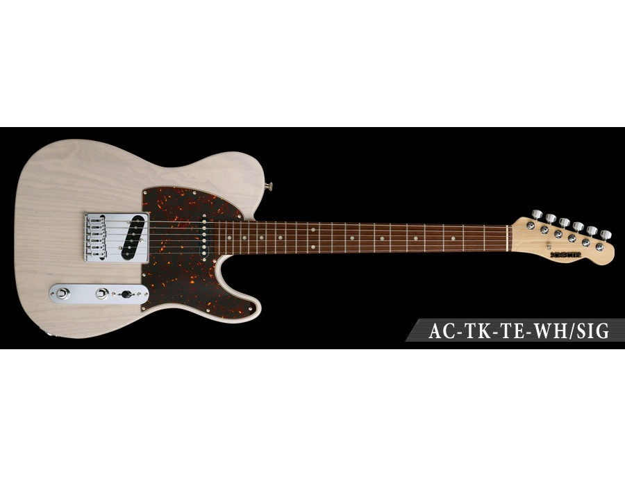 SCHECTER AC-TK-TE-WH/SIG