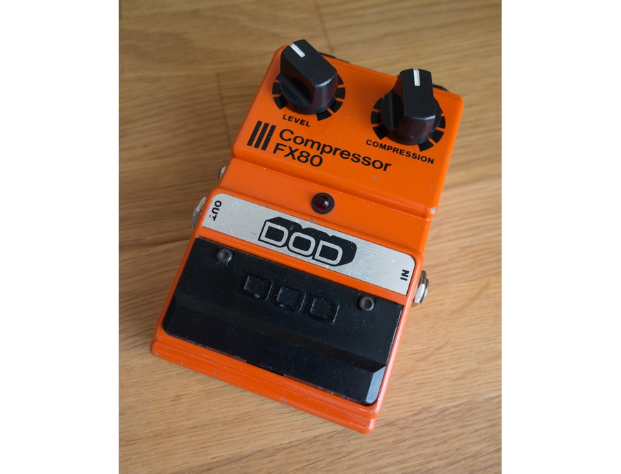 DOD FX80 Compressor Sustainer