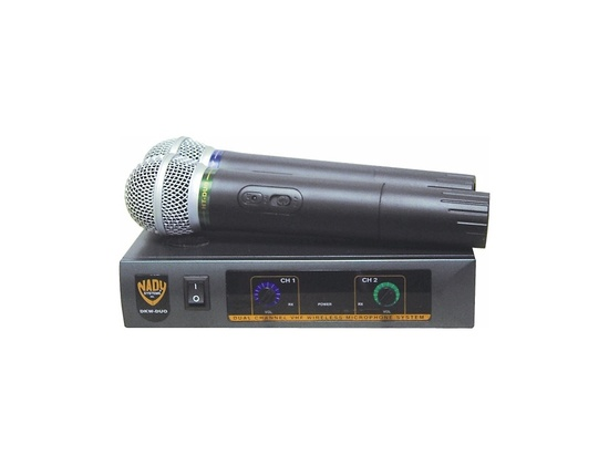 Nady DKW-Duo Dual Channel VHF Handheld Wireless Microphone System