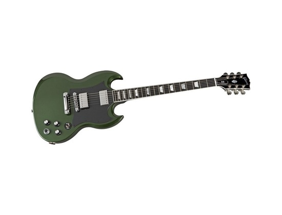 Gibson SG Robot Green nitrocellulose finish