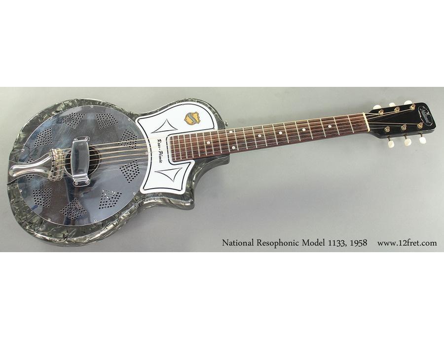 1961 national resophonic model 113 xl